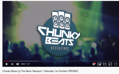 Chunky Beats @ The Neon, Newport / Saturday 1st October (PROMO)
